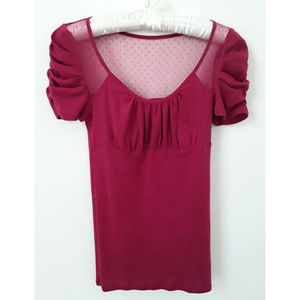 Victoria's Secret feminine romantic top